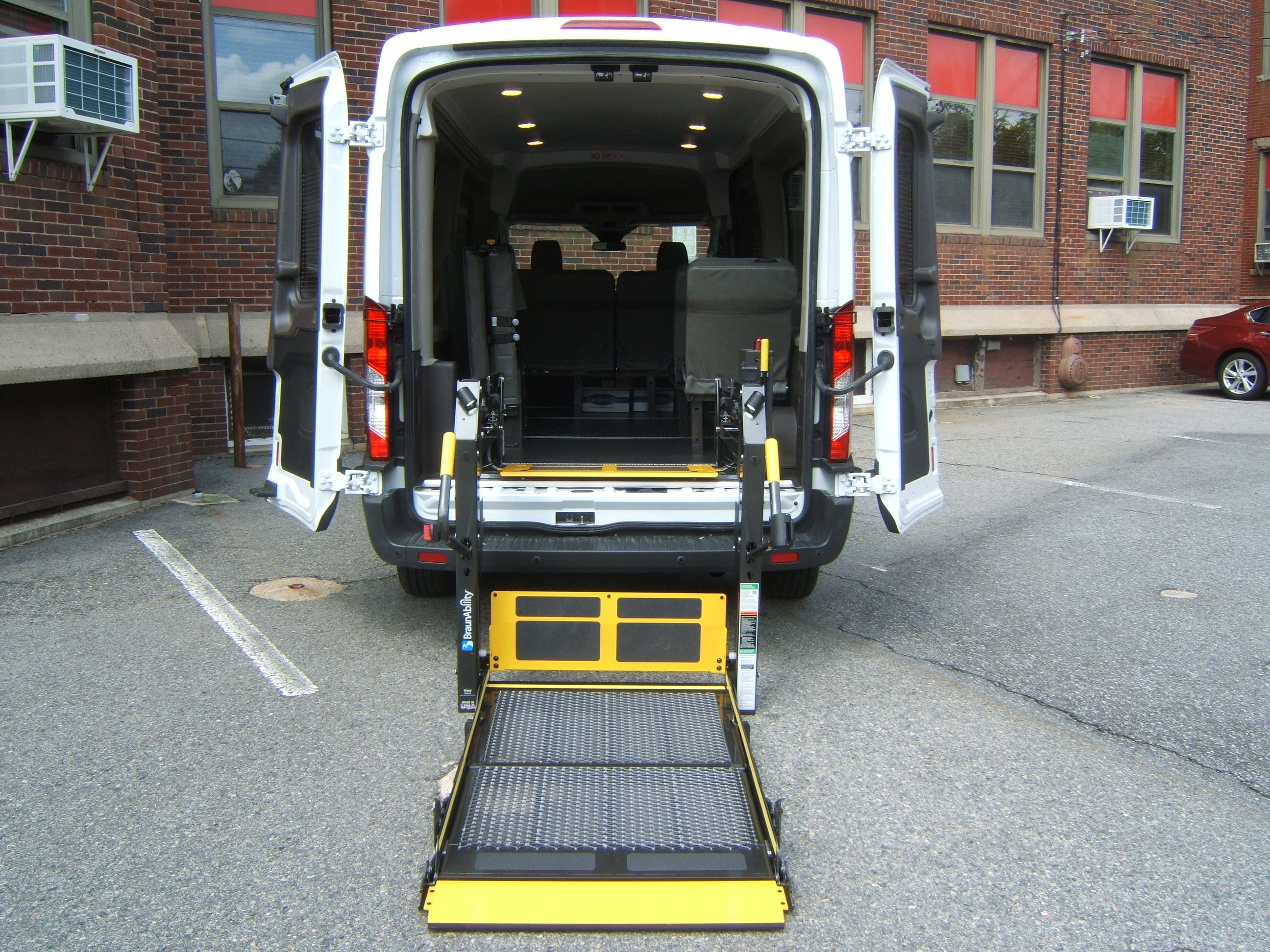 Wheelchair vans national van builders attleboro ma for Handicap wheelchair