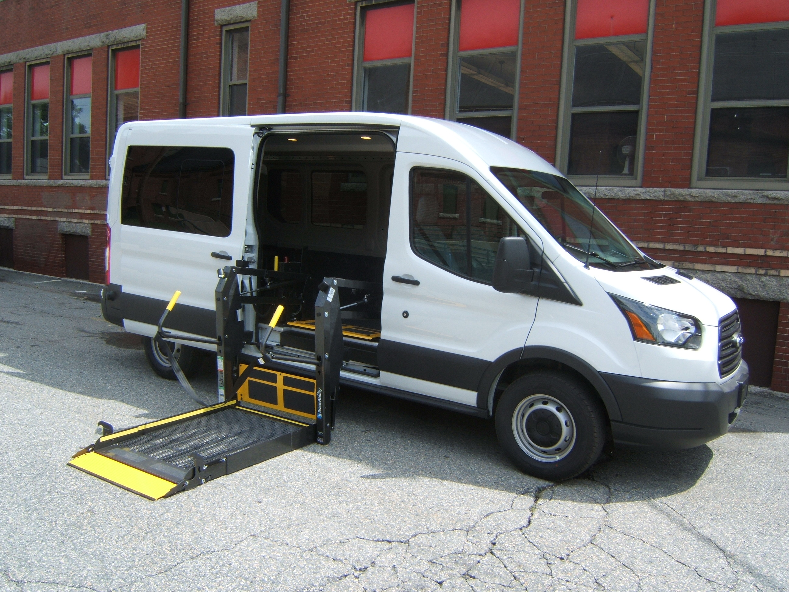 Ford Transit Wheelchair Vans National Van Attleboro Ma